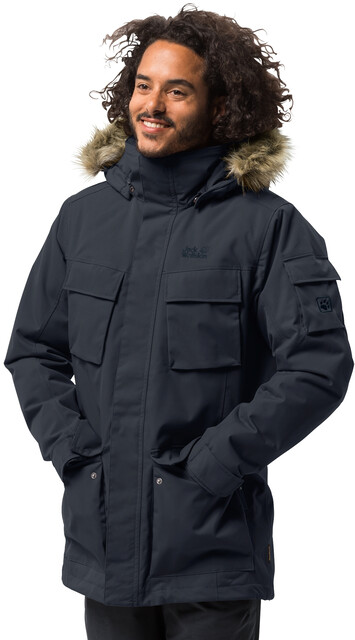 Jack Wolfskin Glacier Canyon Parka Herren night blue